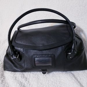 Philosophy di Alberta Ferretti Black Leather Bag